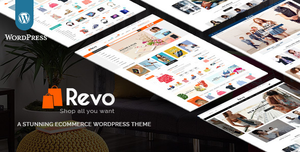 Шаблон Revo Multi-Purpose Responsive WooCommerce Theme