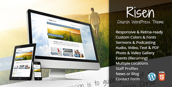 risen - Risen - Church WordPress Theme (Responsive)
