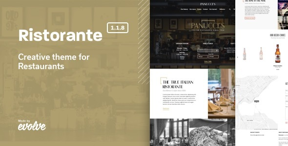 ristorante - Ristorante - Creative Restaurant WordPress Theme
