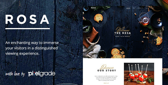 rosa - ROSA - An Exquisite Restaurant WordPress Theme