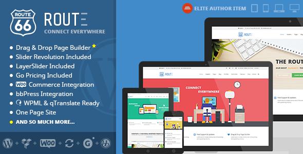 route - Route - Responsive Multi-Purpose WordPress Theme