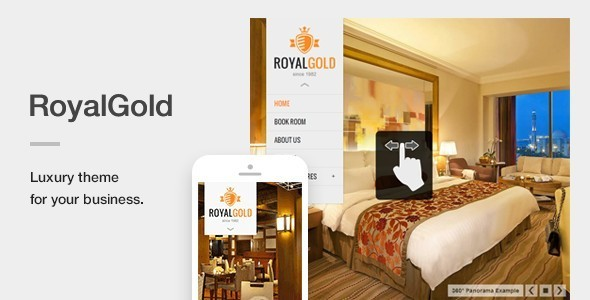 royalgold - RoyalGold - A Luxury & Responsive Hotel or Resort Theme For WordPress