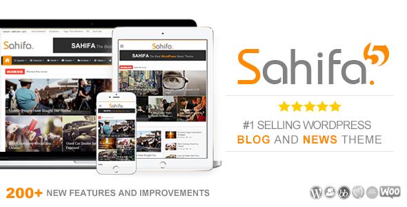 sahifa - Sahifa - Responsive WordPress News / Magazine / Blog Theme