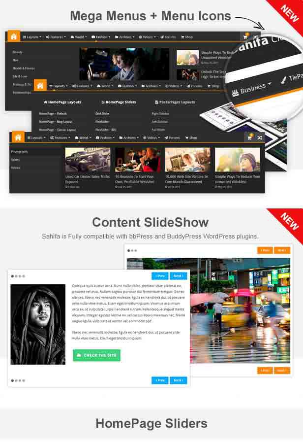 sahifa4 - Sahifa - Responsive WordPress News / Magazine / Blog Theme