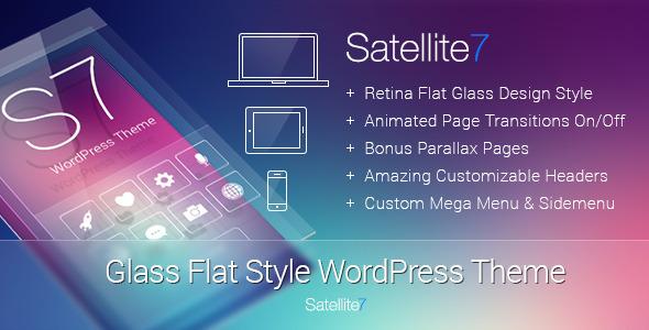 satellite7 - Satellite7 - Retina Multi-Purpose WordPress Theme