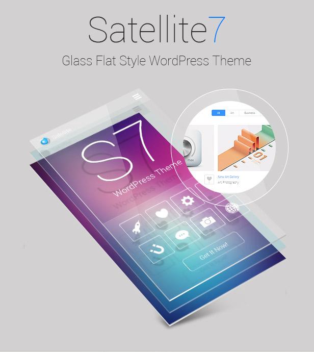 satellite72 - Satellite7 - Retina Multi-Purpose WordPress Theme