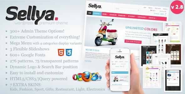 sellya - Sellya - Responsive WooCommerce Theme