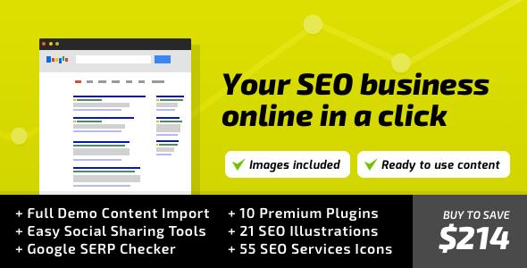 seo - SEO WP: WordPress Theme for Digital Marketing Agency, Social Media & SEO Company