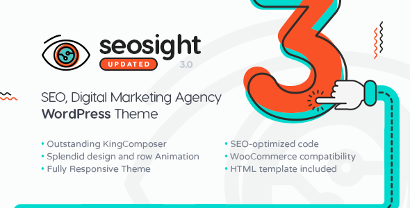 seosight - Seosight - SEO, Digital Marketing Agency WP Theme with Shop