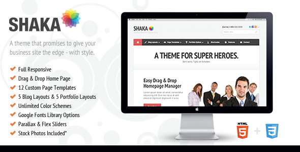 shaka - Shaka - Responsive Business WP Theme