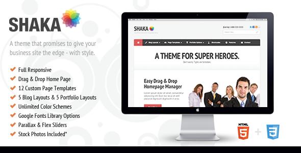 shaka - Shaka - Responsive Business WP Theme
