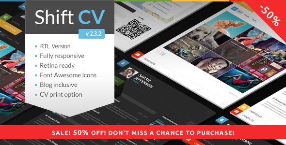 shiftcv - ShiftCV - Blog \ Resume \ Portfolio \ WordPress