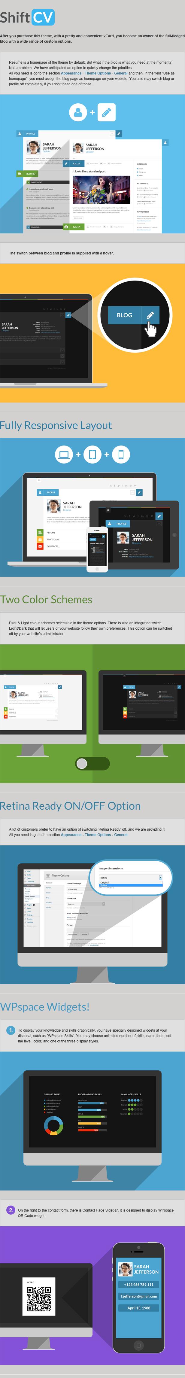 shiftcv2 - ShiftCV - Blog \ Resume \ Portfolio \ WordPress