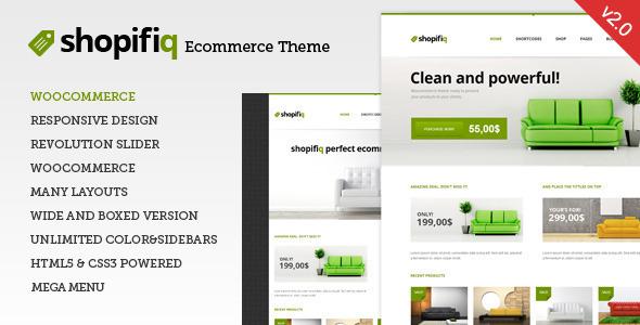 shopifiq - Shopifiq - Responsive WordPress WooCommerce Theme