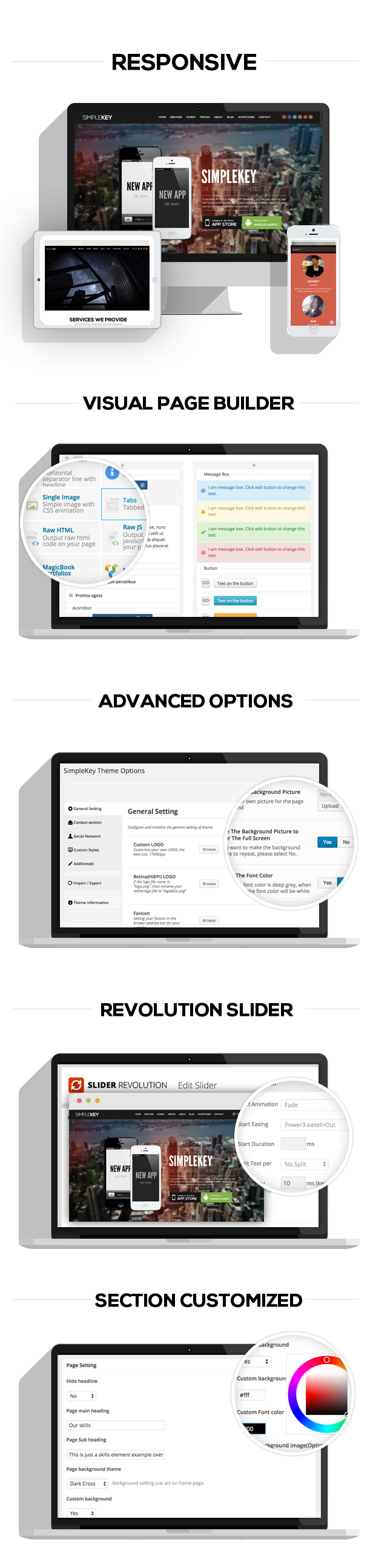 simplekey3 - SimpleKey - One Page Portfolio WordPress Theme