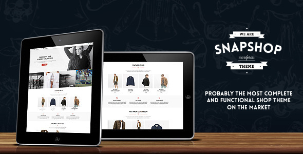 snapshop - Snapshop - Responsive WooCommerce Wordpress Theme - Enhance Your Shop Website