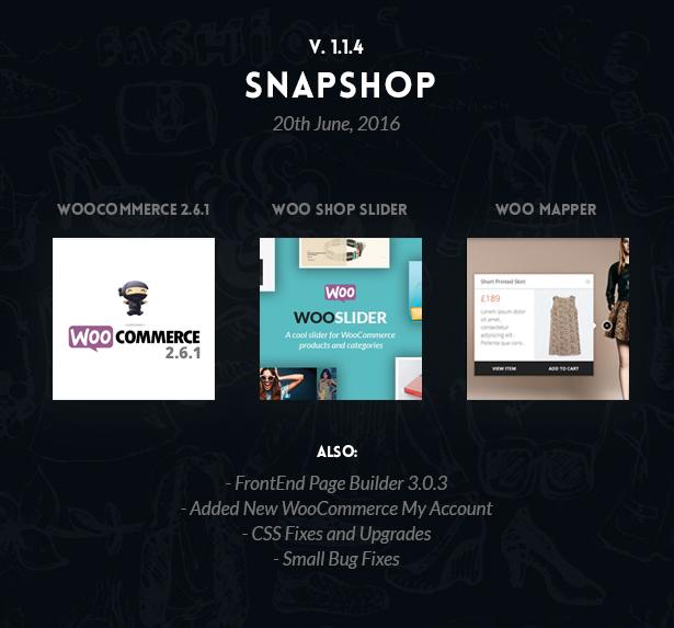snapshop2 - Snapshop - Responsive WooCommerce Wordpress Theme - Enhance Your Shop Website