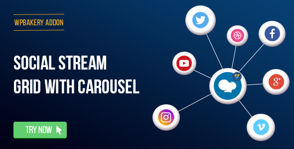 social - WPBakery Page Builder - Social Streams With Carousel (formerly Visual Composer)