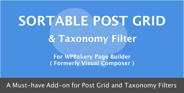 sortable - Visual Composer - Sortable Grid & Taxonomy filter