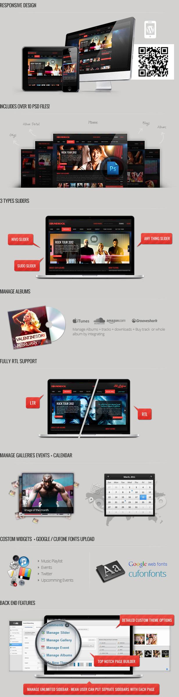 sound2 - Sound Rock - Music Band Wordpress Theme