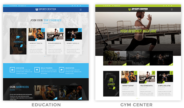 sport5 - Sport Center - Multipurpose Events & Education WordPress Theme