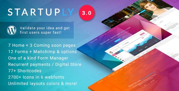 startuply - Startuply — Multi-Purpose Startup Theme
