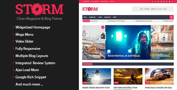 storm - Storm - Clean Magazine & Blog Theme