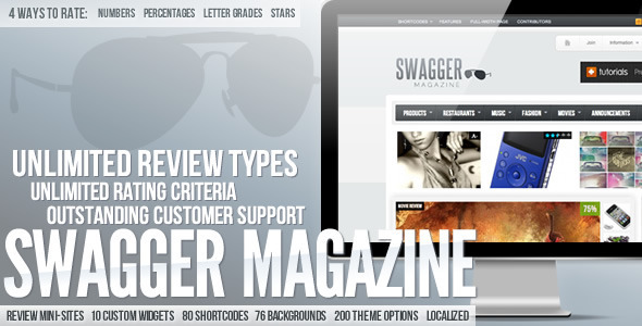 swagmag - SwagMag - WordPress Magazine/Review Theme