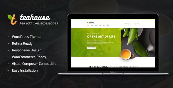 tea house - Tea House | Tea Store and Cafe WordPress Theme