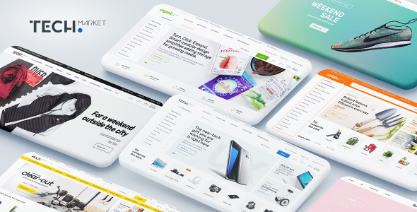 techmarket - Techmarket - Multi-demo & Electronics Store WooCommerce Theme