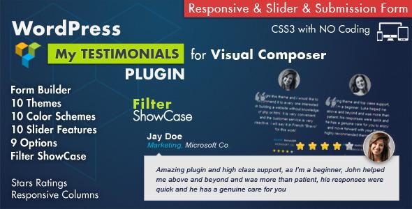 testimonials - Testimonials Showcase for Visual Composer Plugin