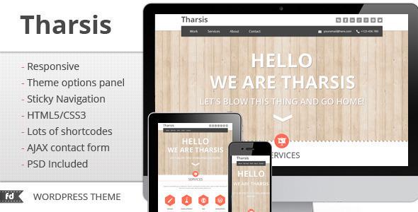 tharsis - Tharsis - Responsive One Page Portfolio Theme