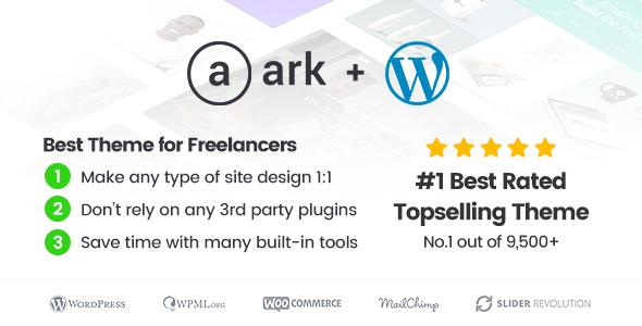 the ark - The Ark | WordPress Theme made for Freelancers
