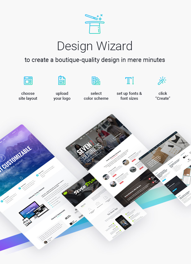 the77 - The7 — Multi-Purpose Website Building Toolkit for WordPress
