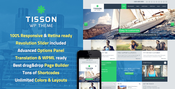 tisson - Tisson WordPress Theme