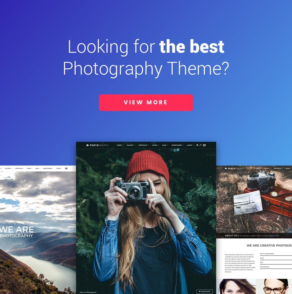 titan2 - Photography WordPress   Titan for Photography