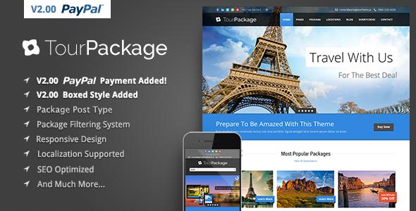 tour - Tour Package - Wordpress Travel/Tour Theme