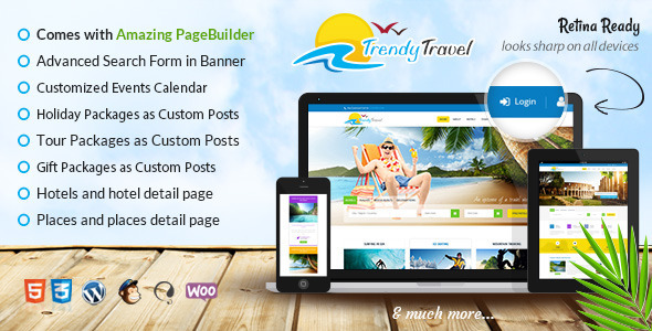 trendy - Trendy Travel - Tour, Travel & Travel Agency Theme