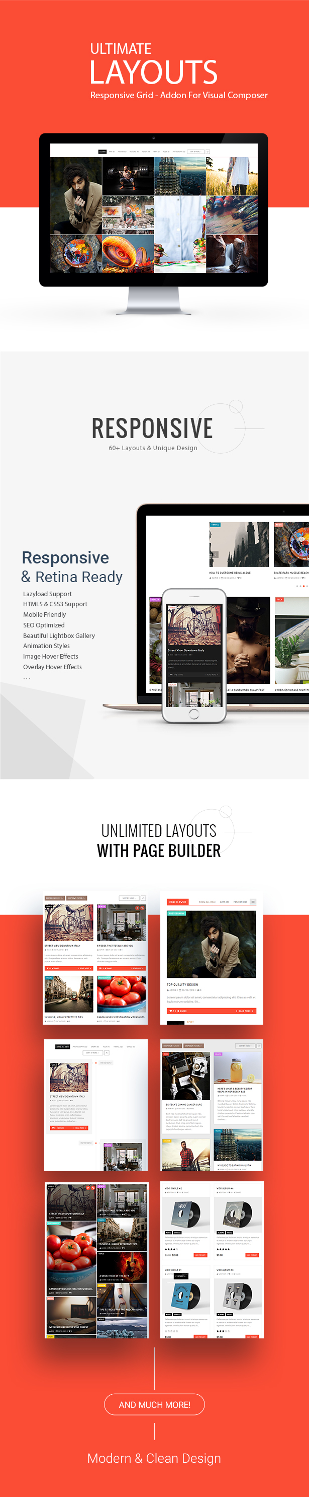 ultimate - Ultimate Layouts - Responsive Grid & Youtube Video Gallery - Addon For Visual Composer