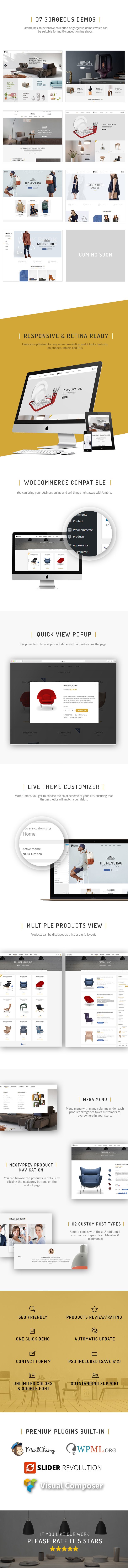 umbra4 - Mebla - Multi Concept WooCommerce WordPress Theme