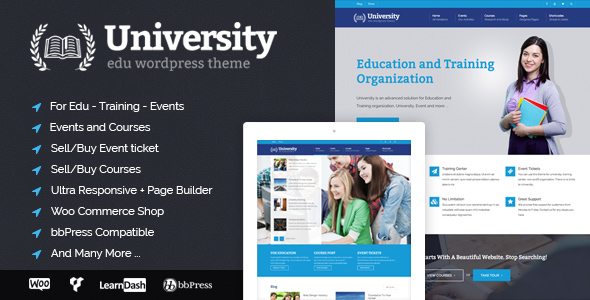 university - University - Education, Event and Course Theme