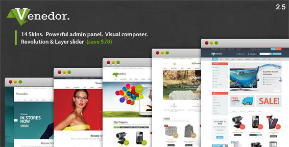 venedor - Venedor - WordPress + WooCommerce Theme