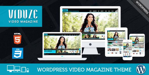 viduze - Viduze - Video WordPress Theme