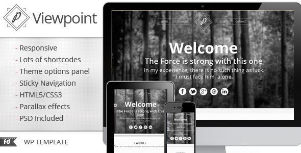 viewpoint - Viewpoint - Responsive single page portfolio