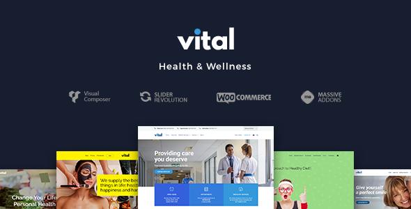 vital - Vital | Health, Medical and Wellness WordPress Theme