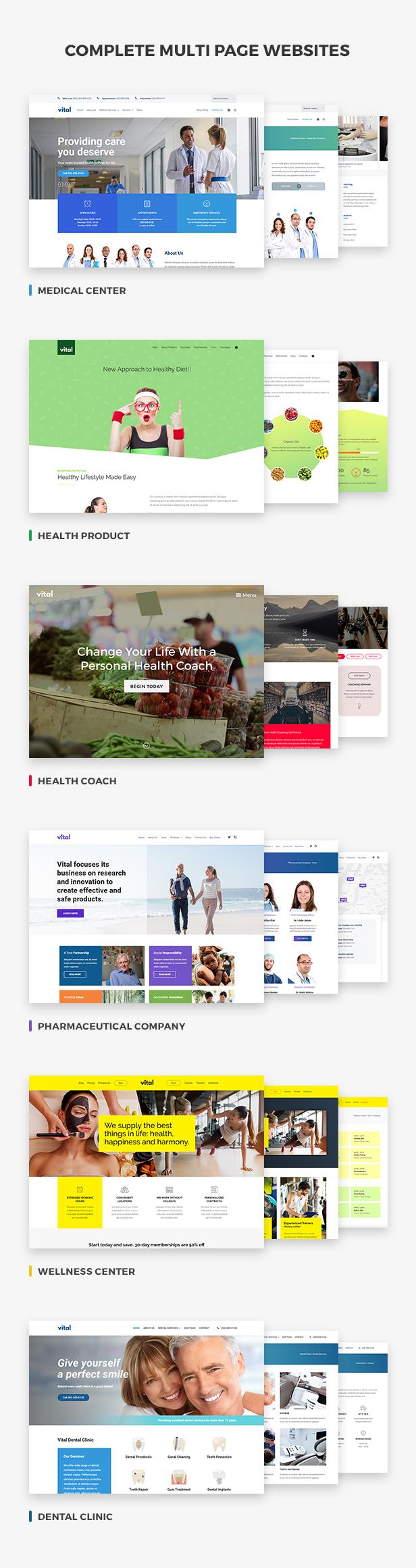 vital2 - Vital | Health, Medical and Wellness WordPress Theme
