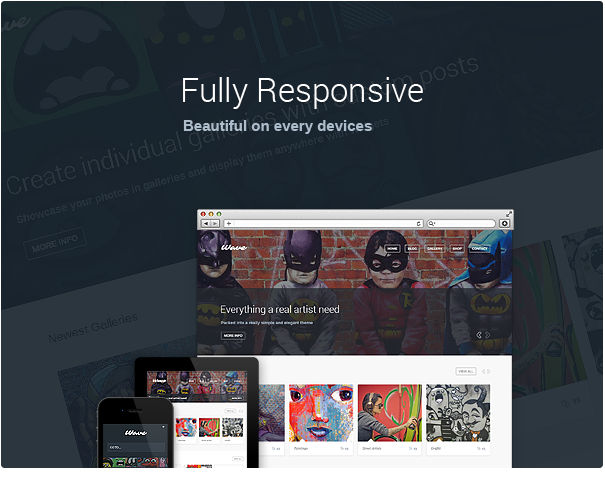 wave3 - Wave - WordPress Theme for Artists