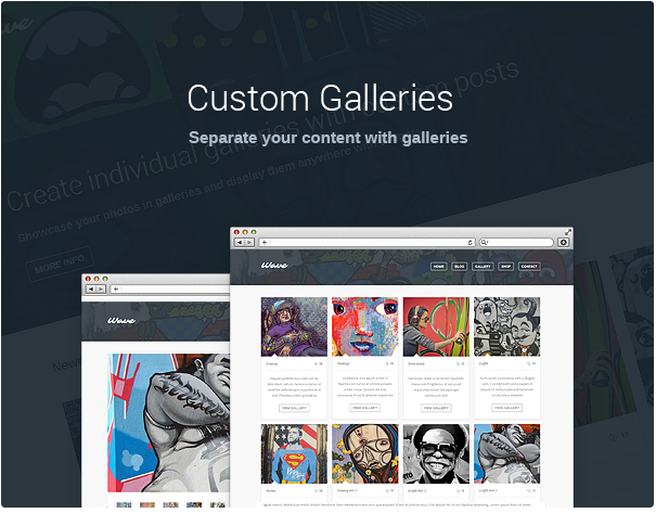 wave5 - Wave - WordPress Theme for Artists