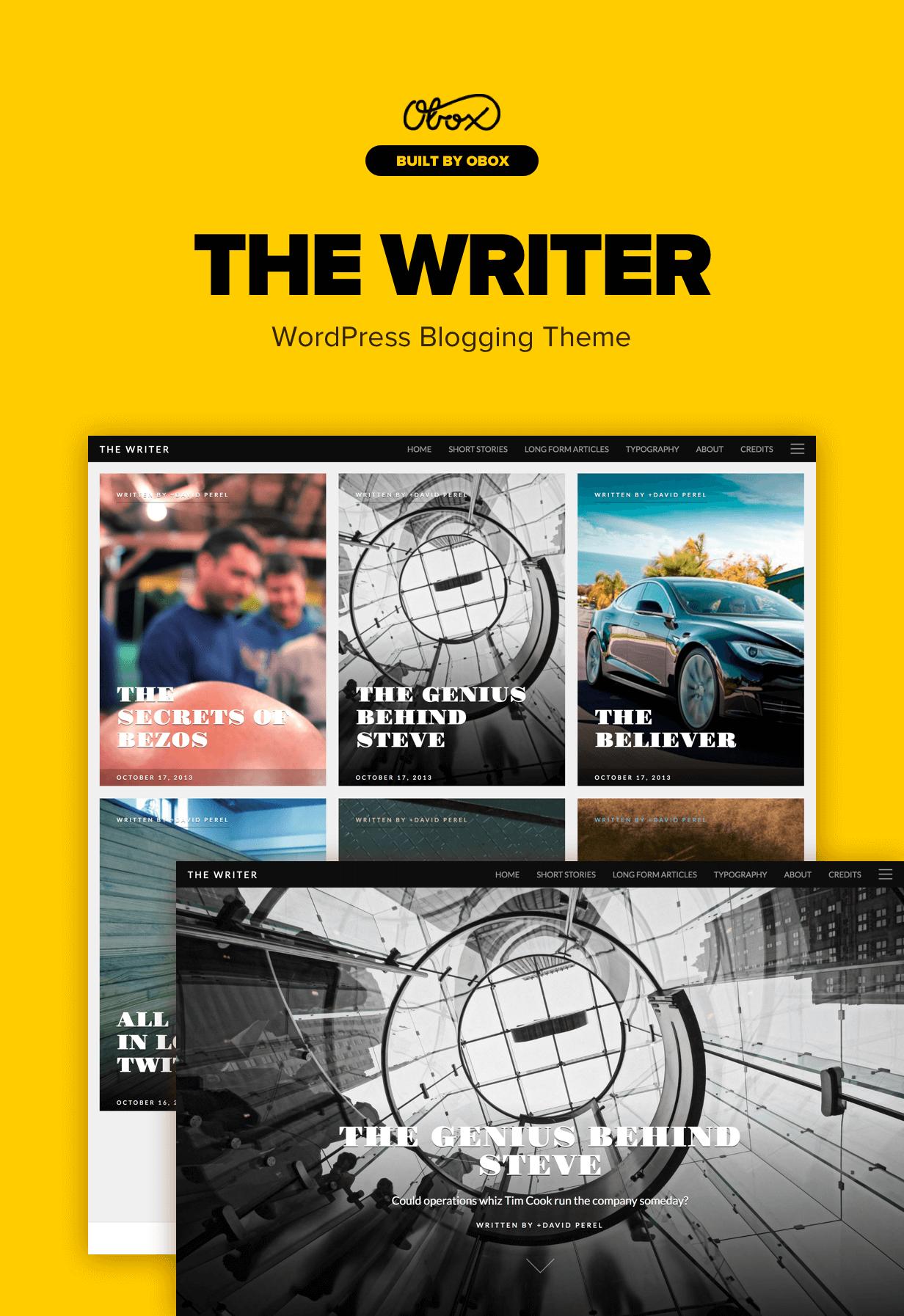 writer2 - The Writer - Premium WordPress Blogging Theme