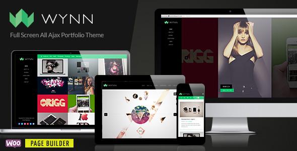 wynn - Wynn - Fullscreen Ajax Portfolio / Photography Theme